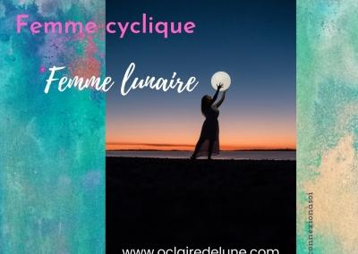 Femme lunaire, Femme cyclique